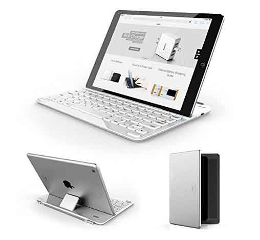 Anker® Bluetooth Ultra-Slim Keyboard Cover for iPad