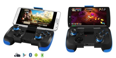 BEBONCOOL Wireless Bluetooth Game Controller with Clip for Android Phone_Tablet_TV Box