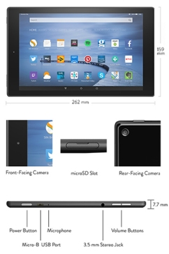 Amazon Fire HD 10 (5th generation)