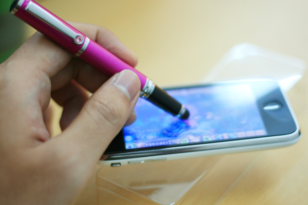 Genius Touch Pen 100L Stylus - Violet
