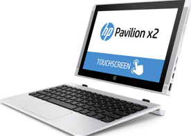 HP Pavilion x2 10-n054na (M4S69EA) 10.1-inch Touch Screen Laptop Tablet