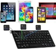 Navitech Black Wireless Bluetooth Multi OS Keyboard