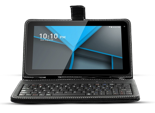 Quad Core Google Android Tablet PC keyboard bundled