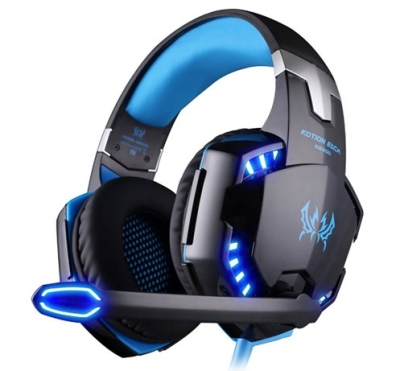 Stereo Gaming LED Lighting Over-Ear Headphone Headset