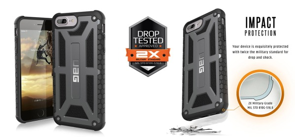 UAG iPhone case military drop tested